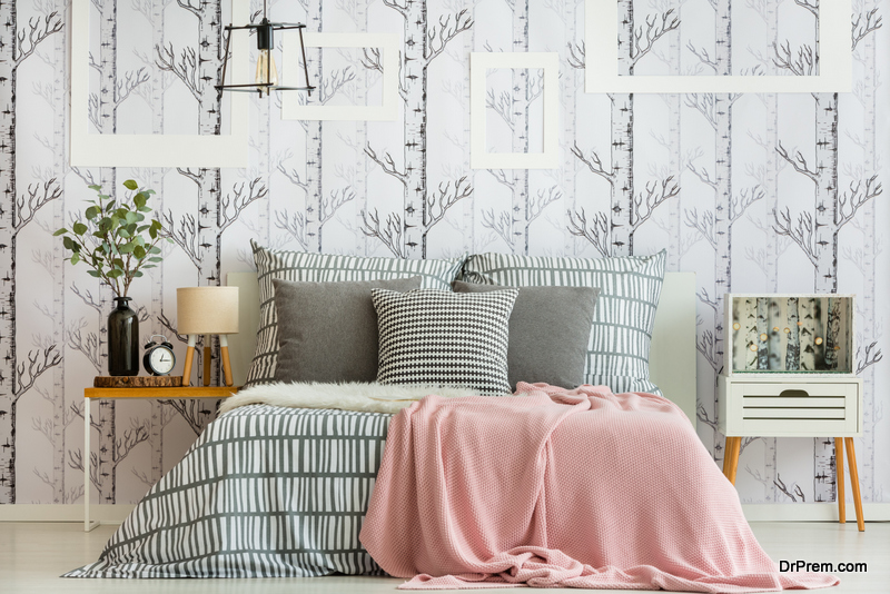 Apply removable wallpaper