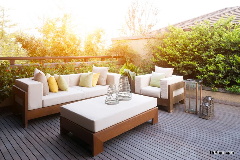 Add Style to a Boring Patio