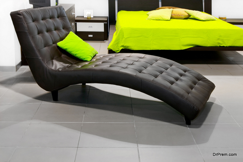 Add a chaise lounge to your study