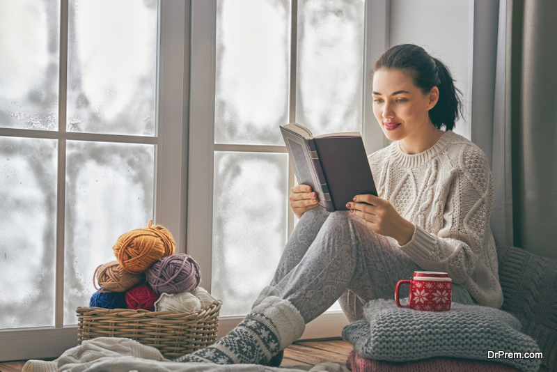 Alcove reading nooks