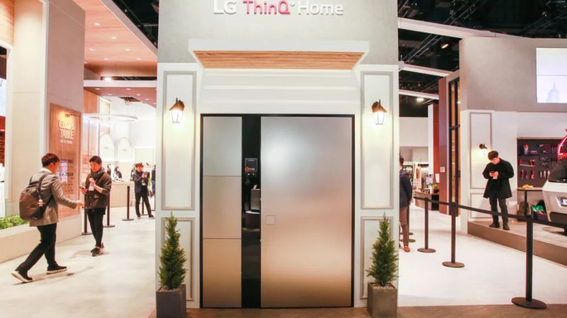 LG ThinQ Smart Door