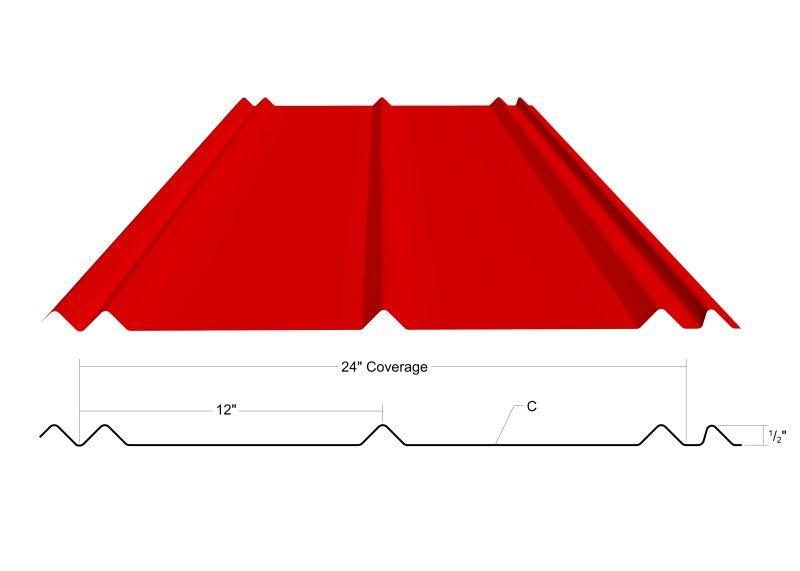 metallic roofing