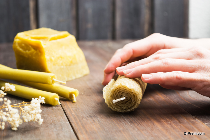 Beeswax Candles are Popular with Health-Conscious Consumers