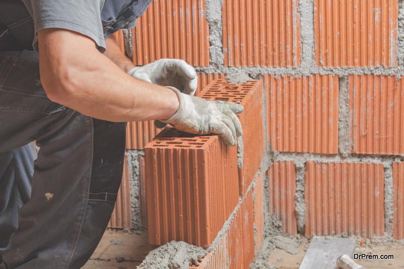 Repair of wall
