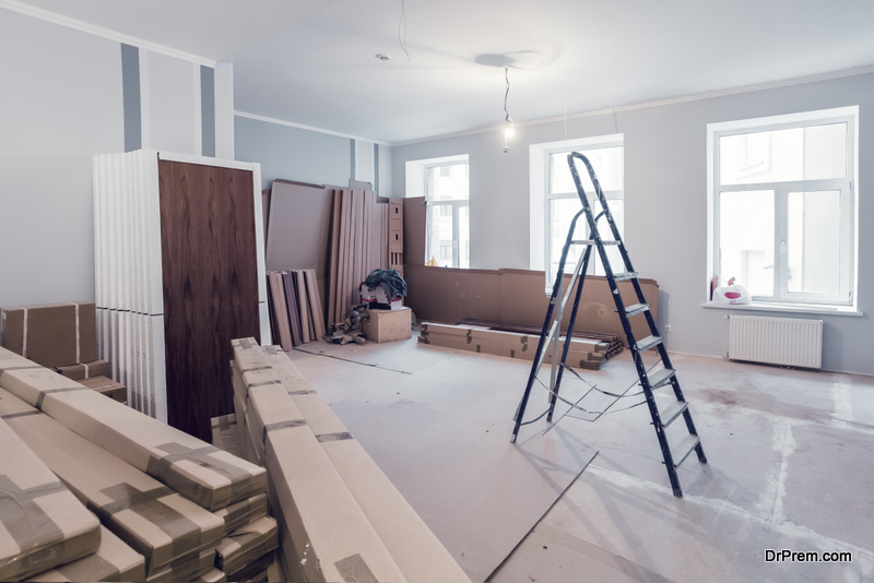 renovating the home